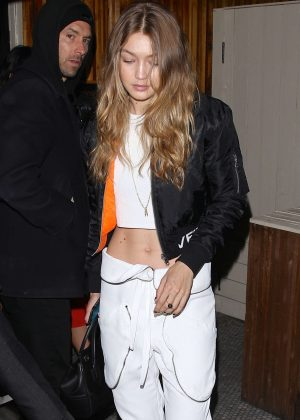 Gigi Hadid at the Nice Guy in West Hollywood