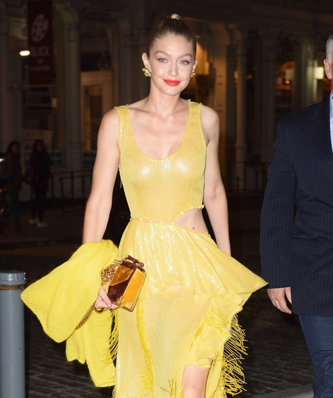 Gigi Hadid - Attends 'All I See Is You' Screening in NYC