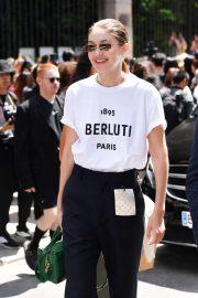 Gigi Hadid - Attends the Berluti Menswear SS 2020 Show in Paris