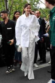 Gigi Hadid - Attends the Louis Vuitton Menswear SS 2020 Show in Paris