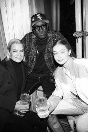 Gigi Hadid - Baccarat Crystal Clear Paris Event in Paris