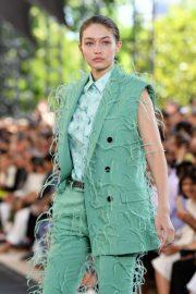 Gigi Hadid - Berluti Menswear Runway Show SS 2020 in Paris