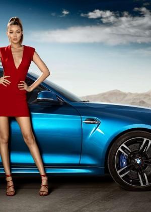 Gigi Hadid - BMW M2 Advertising 2016