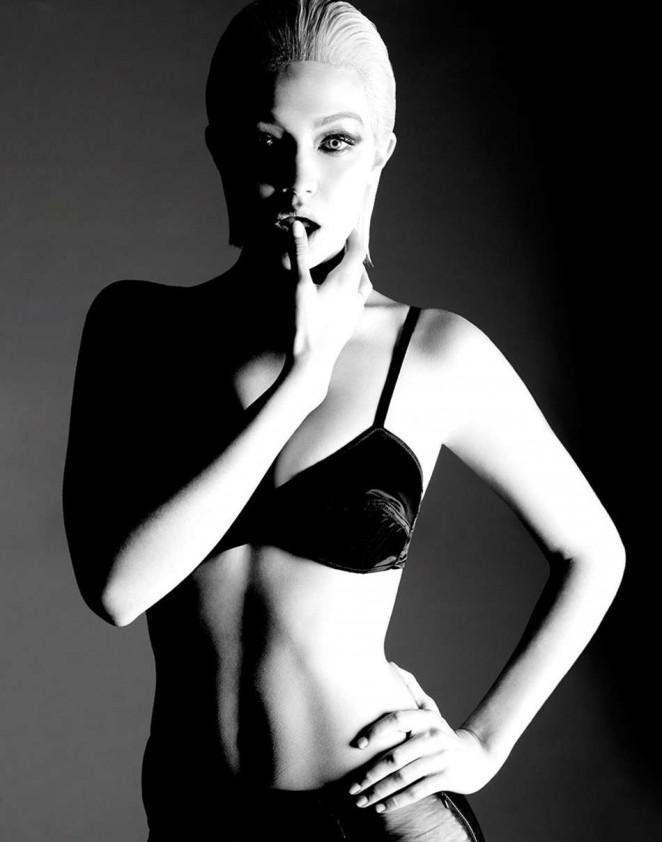 Gigi Hadid by Yu Tsai Photoshoot (January 2015)