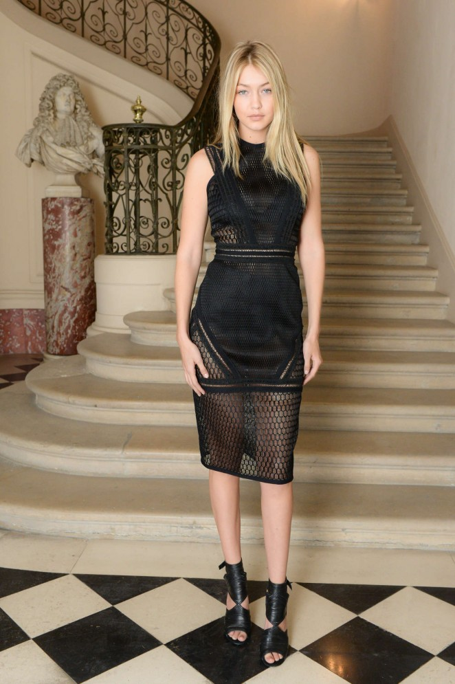 Gigi Hadid - CFDA/Vogue Fashion Fund Americans Cocktail Party in Paris