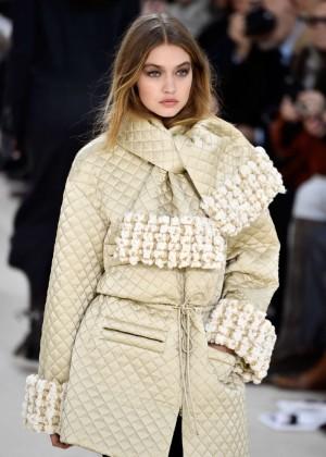 Gigi Hadid - Chanel Fashion Show 2016 in Paris