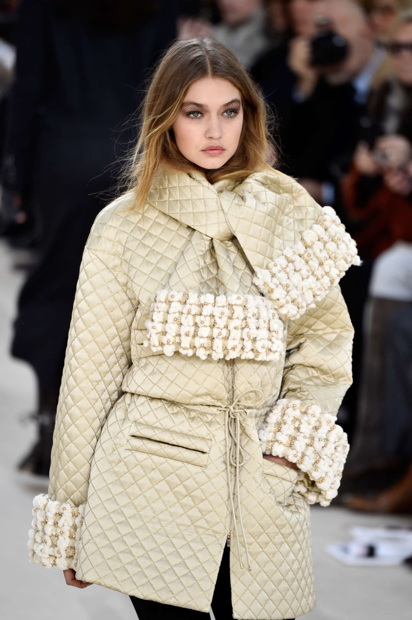 Gigi Hadid Chanel Fashion Show 2016 In Paris