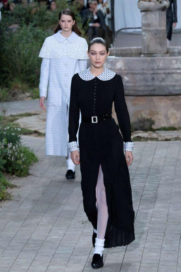 Gigi Hadid - Chanel Haute Couture Runway Show in Paris