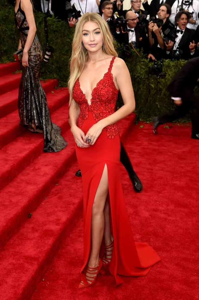 Gigi Hadid - 2015 Costume Institute Gala in NYC