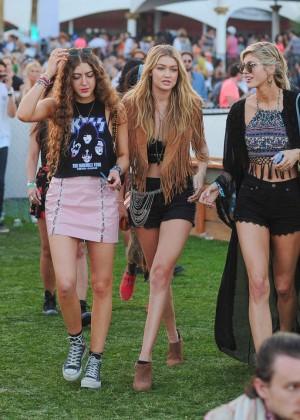 Gigi Hadid: Coachella Music Festival Day 2 -01