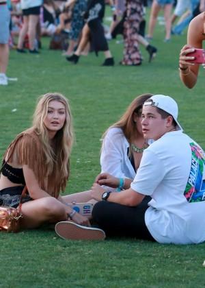 Gigi Hadid: Coachella Music Festival Day 2 -04