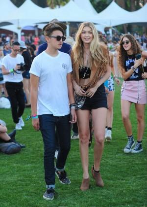 Gigi Hadid: Coachella Music Festival Day 2 -06