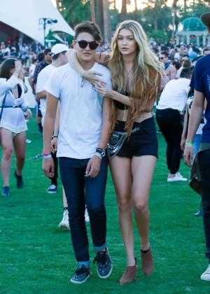 Gigi Hadid: Coachella Music Festival Day 2 -10
