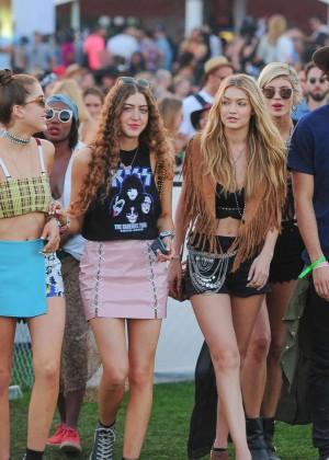 Gigi Hadid: Coachella Music Festival Day 2 -11