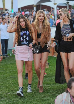 Gigi Hadid: Coachella Music Festival Day 2 -13