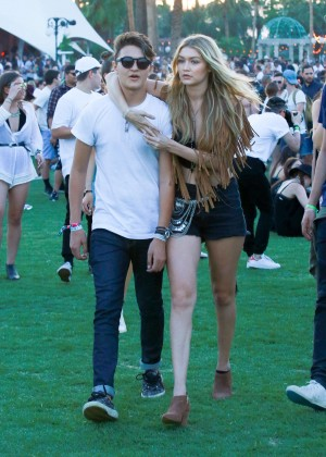 Gigi Hadid: Coachella Music Festival Day 2 -14