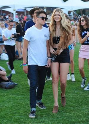Gigi Hadid: Coachella Music Festival Day 2 -15