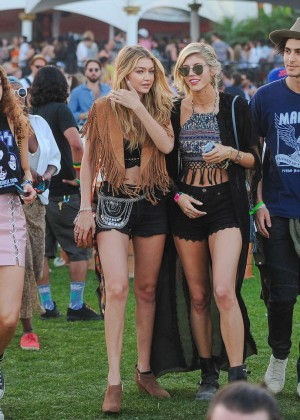 Gigi Hadid: Coachella Music Festival Day 2 -19