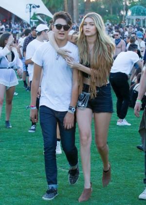 Gigi Hadid: Coachella Music Festival Day 2 -22