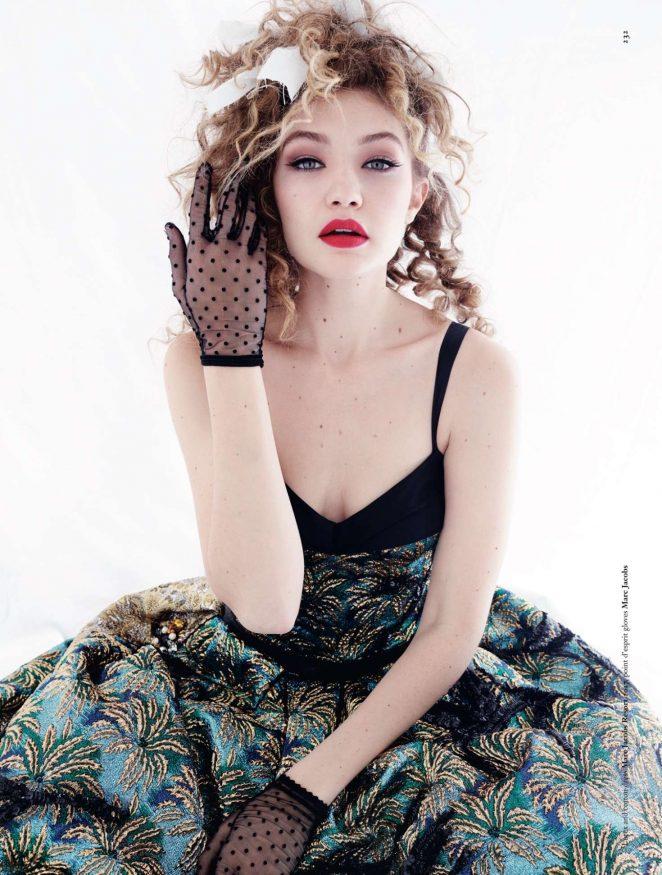 Gigi Hadid - Dazed Magazine 2016