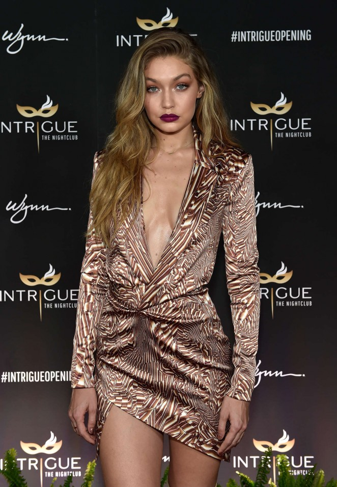 Gigi Hadid - Сelebration of her 21st birthday in Las Vegas