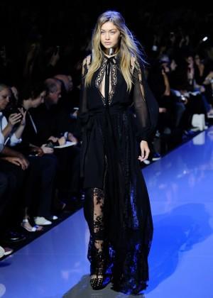 Gigi Hadid: Elie Saab Runway -06