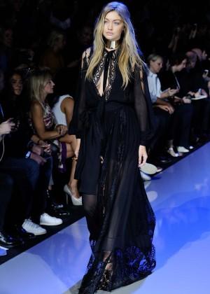 Gigi Hadid: Elie Saab Runway -10