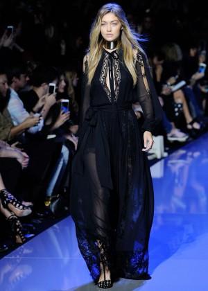Gigi Hadid: Elie Saab Runway -14