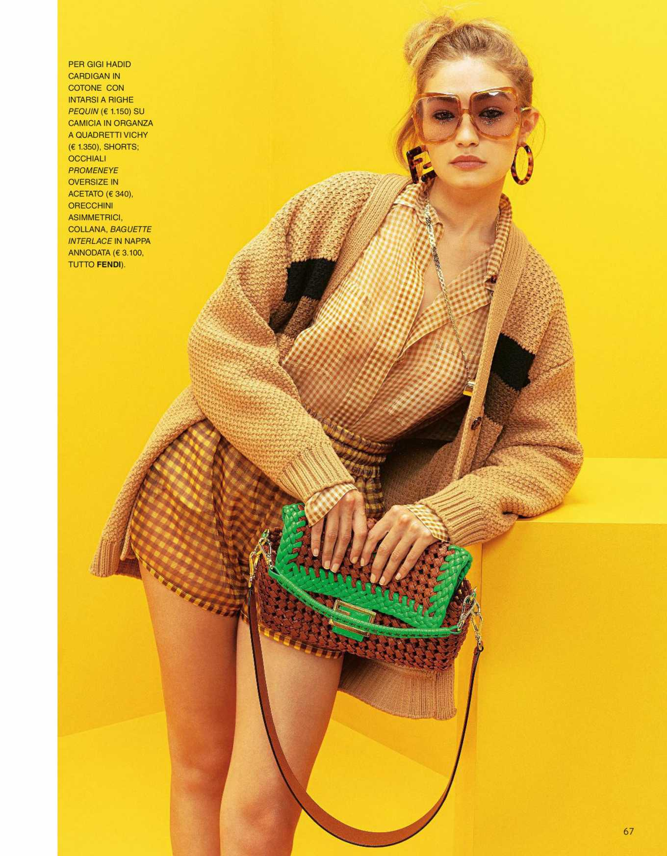 Gigi Hadid for Grazia Italy Magazine (April 2020)