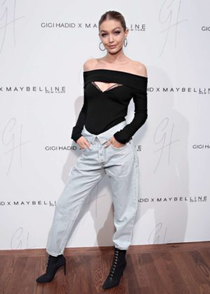 Gigi Hadid - Gigi Hadid x Maybelline New York International Master Class in NYC