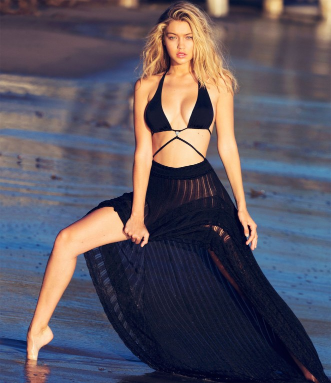 Gigi hadid – guess photoshoot 2015