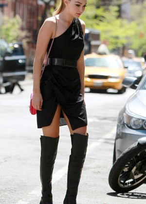 Gigi Hadid: Heading to a Photoshoot -25