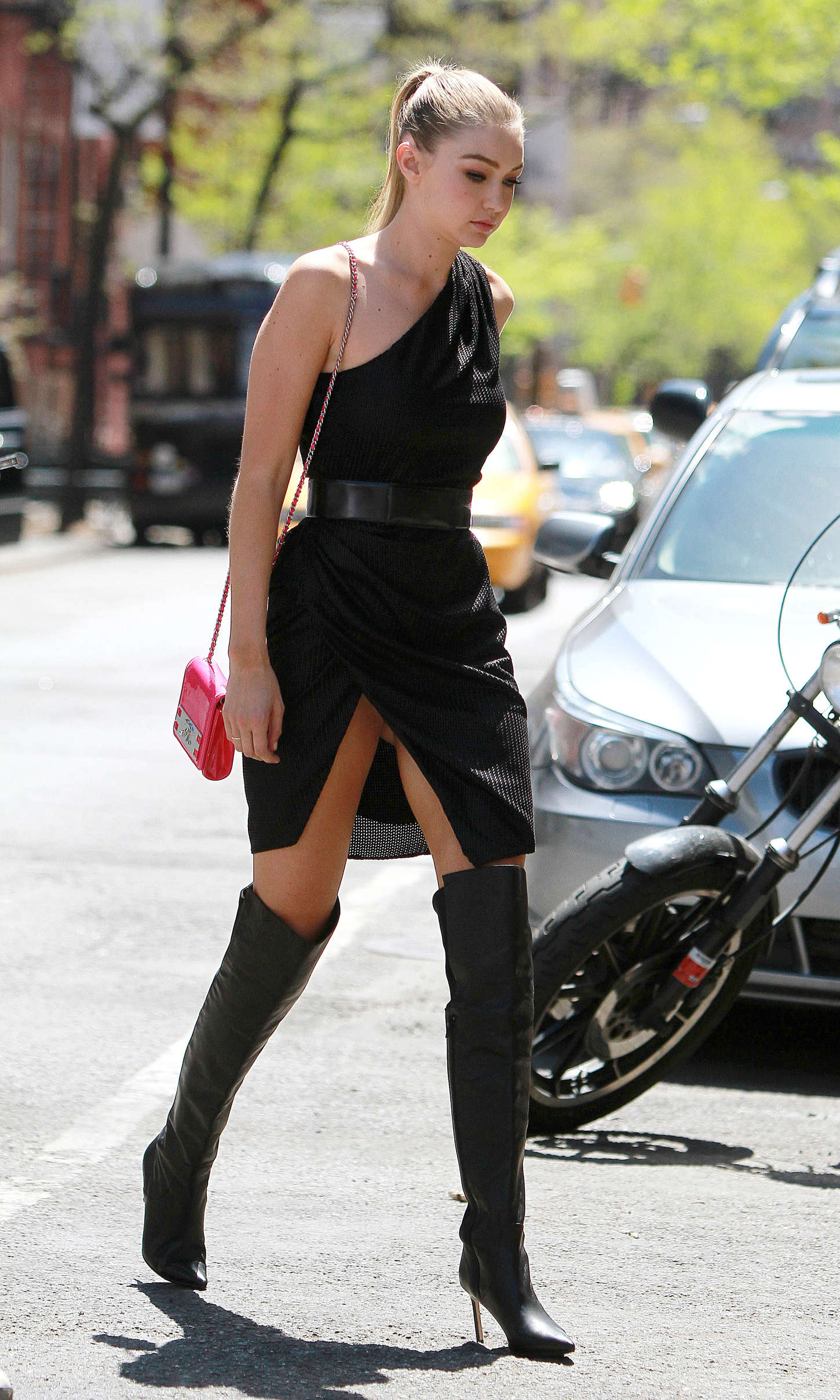 Gigi Hadid: Heading to a Photoshoot -52
