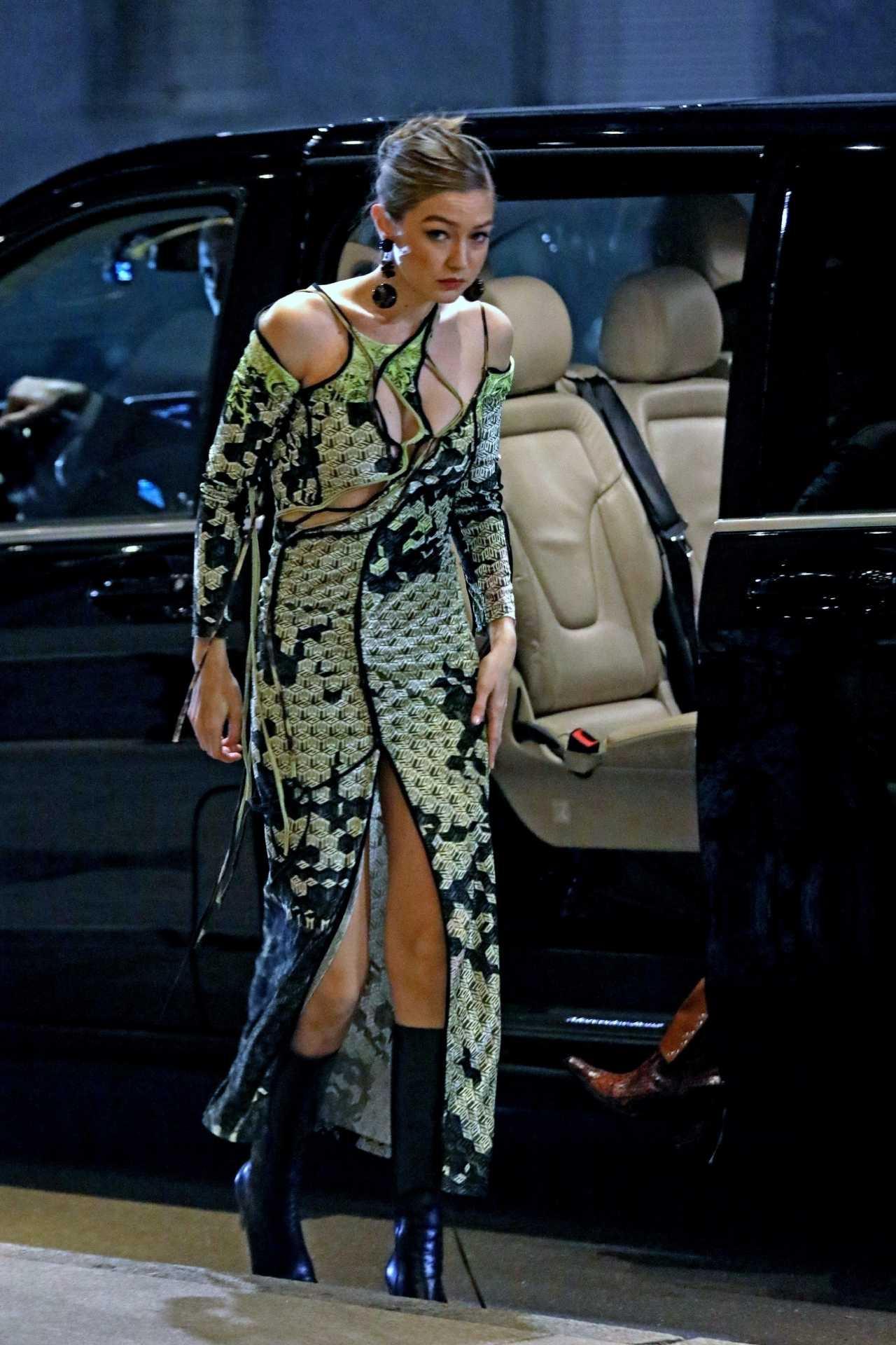 Gigi Hadid 2020 : Gigi Hadid – Heading to the Versace after party during 2020 Milan Fashion Week in Milan-07