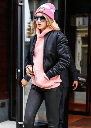 Gigi Hadid Heads to work in New York City