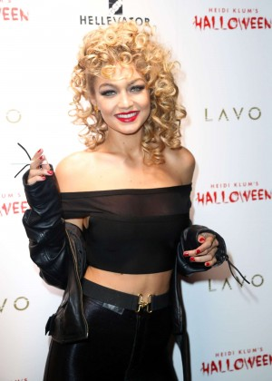 Gigi Hadid - Heidi Klum Halloween Party 2015 in NY