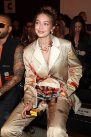 Gigi Hadid - Heron Preston Menswear SS 2020 Show in Paris