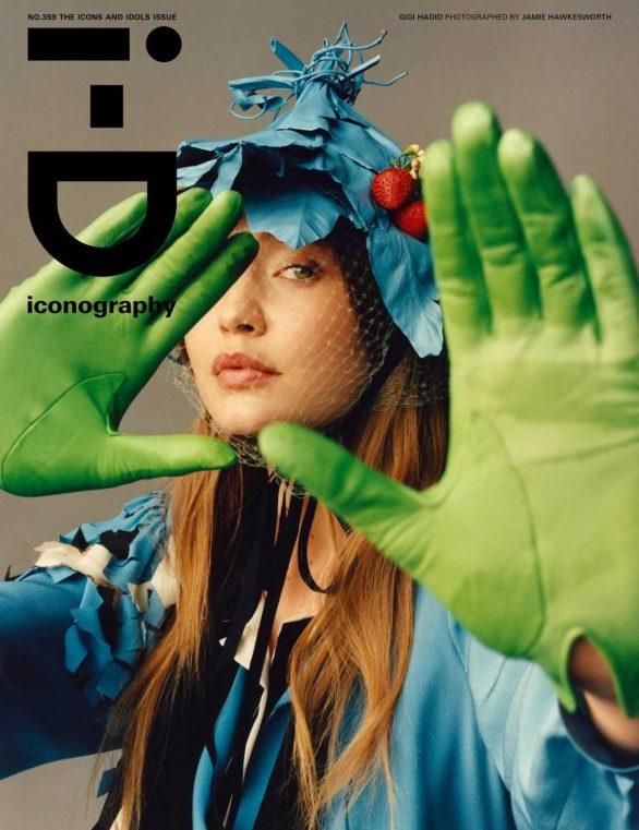 Gigi Hadid - i-D Magazine - The Icons and Idols Issue (Spring 2020)