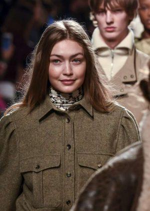 Gigi Hadid - Isabel Marant Fashion Show in Paris