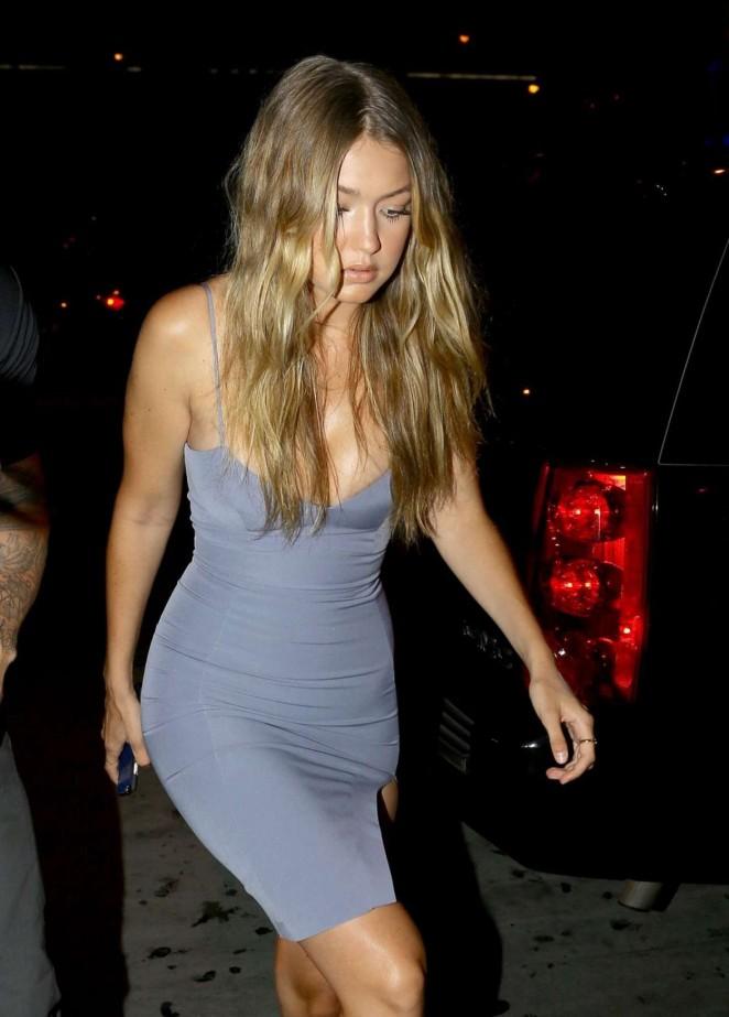 Gigi Hadid - Kylie's 18th Birthday in West Hollywood