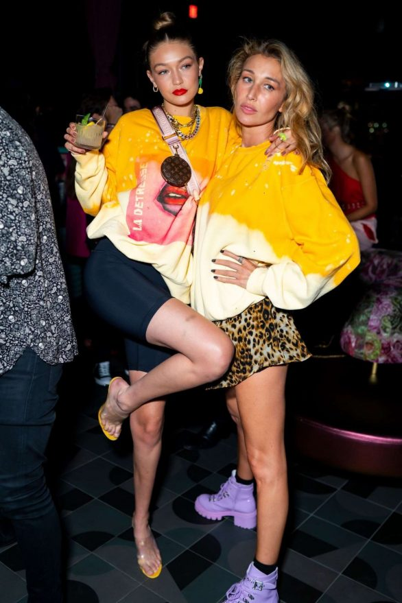 Gigi Hadid - La Detresse SS20 'Acid Drop' by Alana Hadid and Emily Perlstein in NY