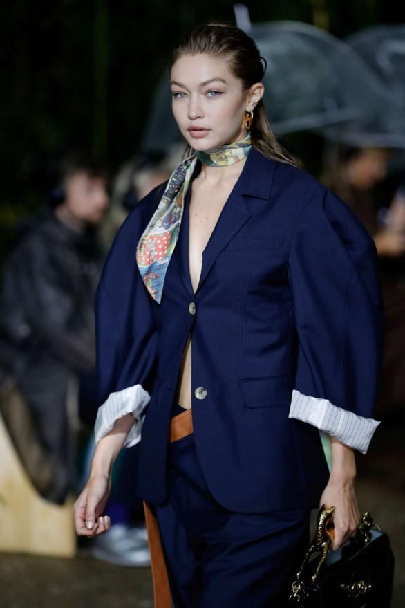 Gigi Hadid - Lanvin Ready to Wear SS 2020 Runway Show at Paris Fashion Week
