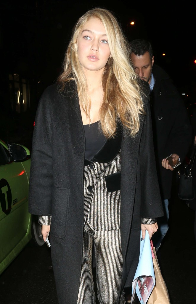 Gigi Hadid - Leaving Bookmarc in NYC