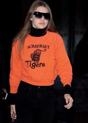 Gigi Hadid - Leaving her apartment in Manhattan