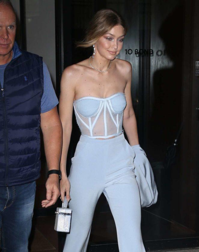 Gigi Hadid Leaving her apartment in New York City