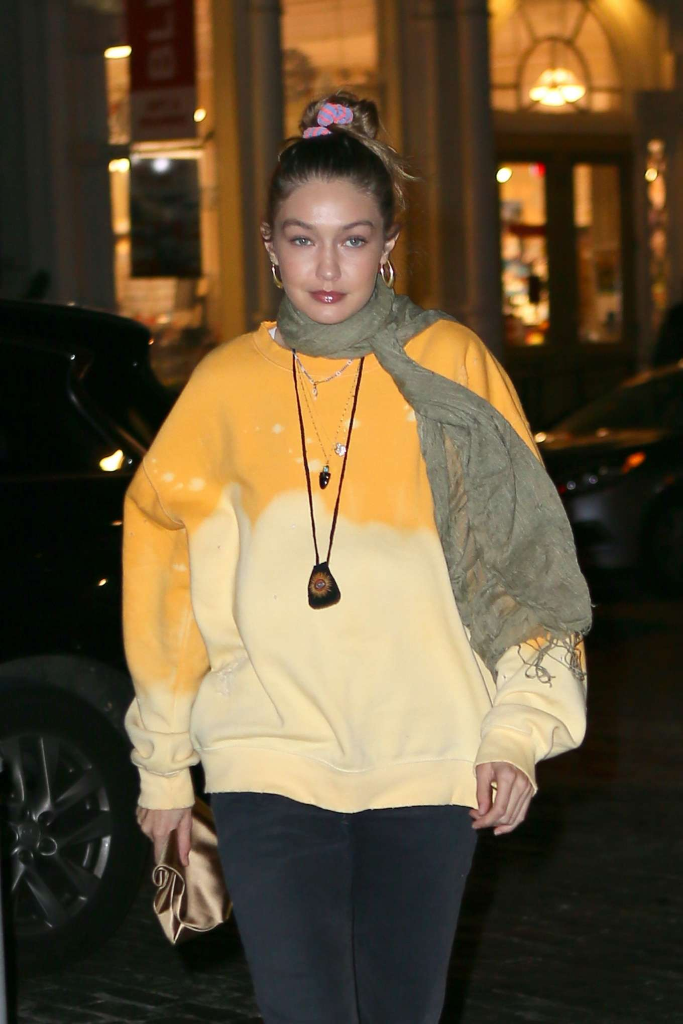 Gigi Hadid 2019 : Gigi Hadid – Leaving La Esquina Restaurant-07