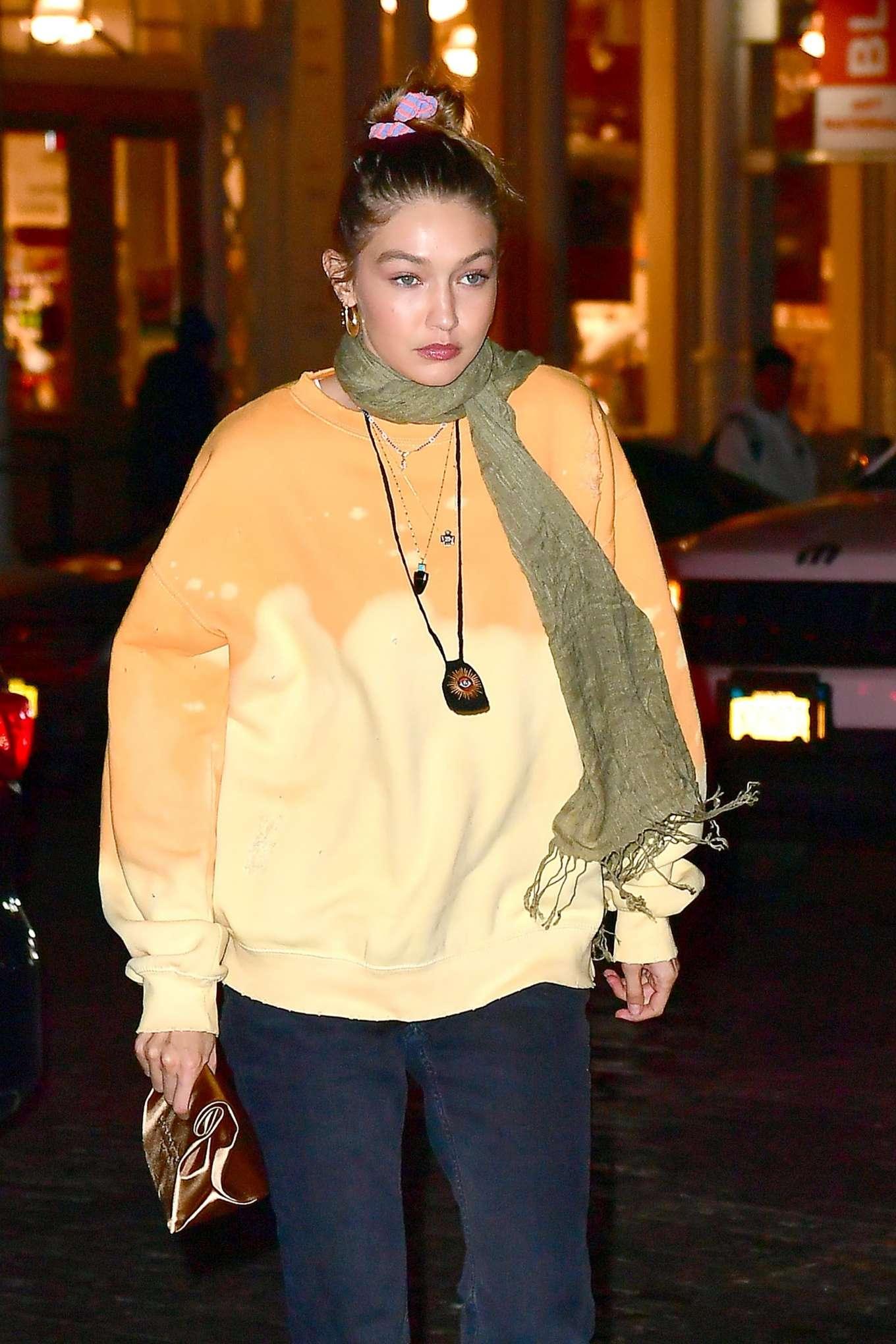 Gigi Hadid 2019 : Gigi Hadid – Leaving La Esquina Restaurant-08