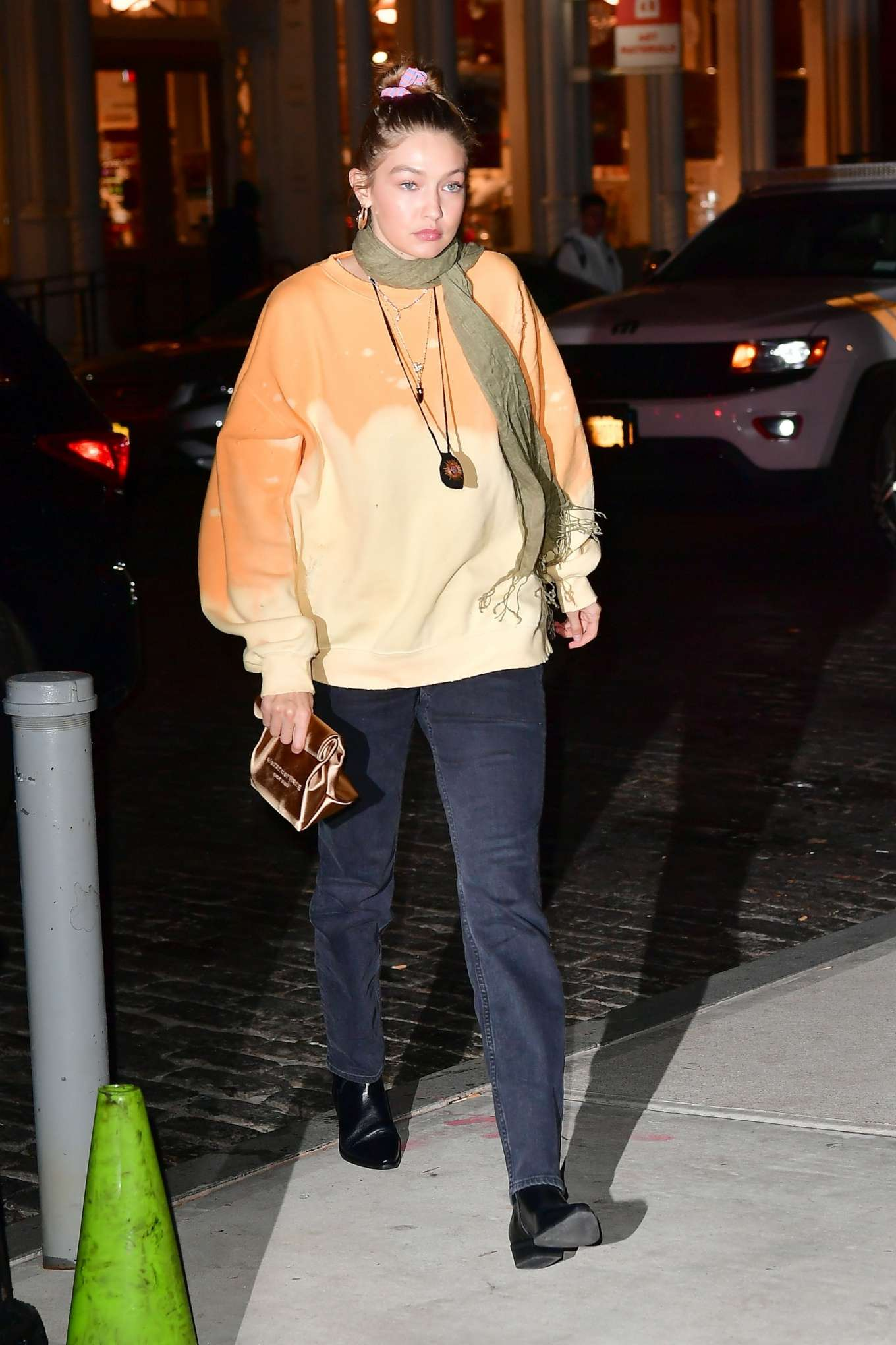 Gigi Hadid 2019 : Gigi Hadid – Leaving La Esquina Restaurant-11