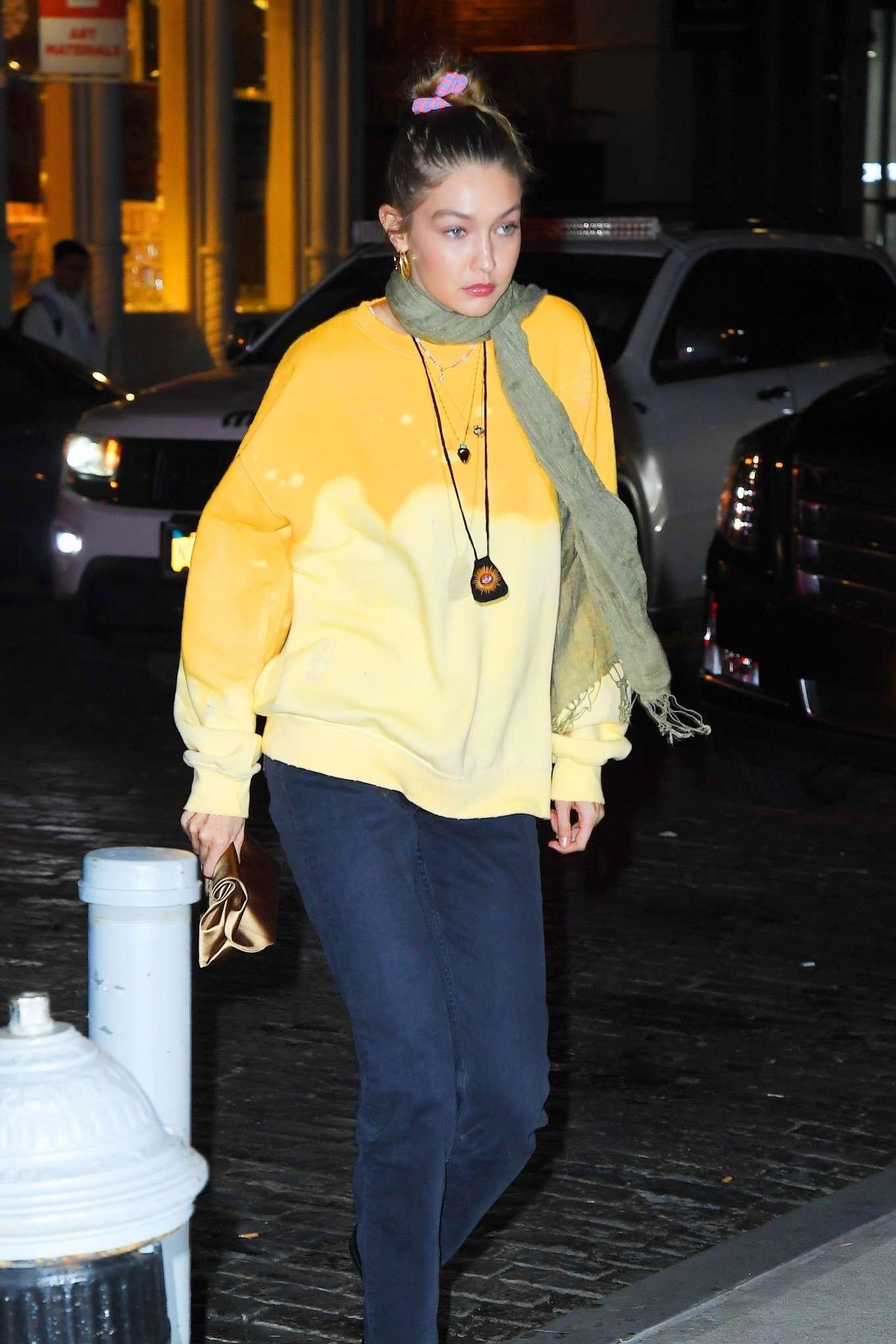 Gigi Hadid 2019 : Gigi Hadid – Leaving La Esquina Restaurant-13