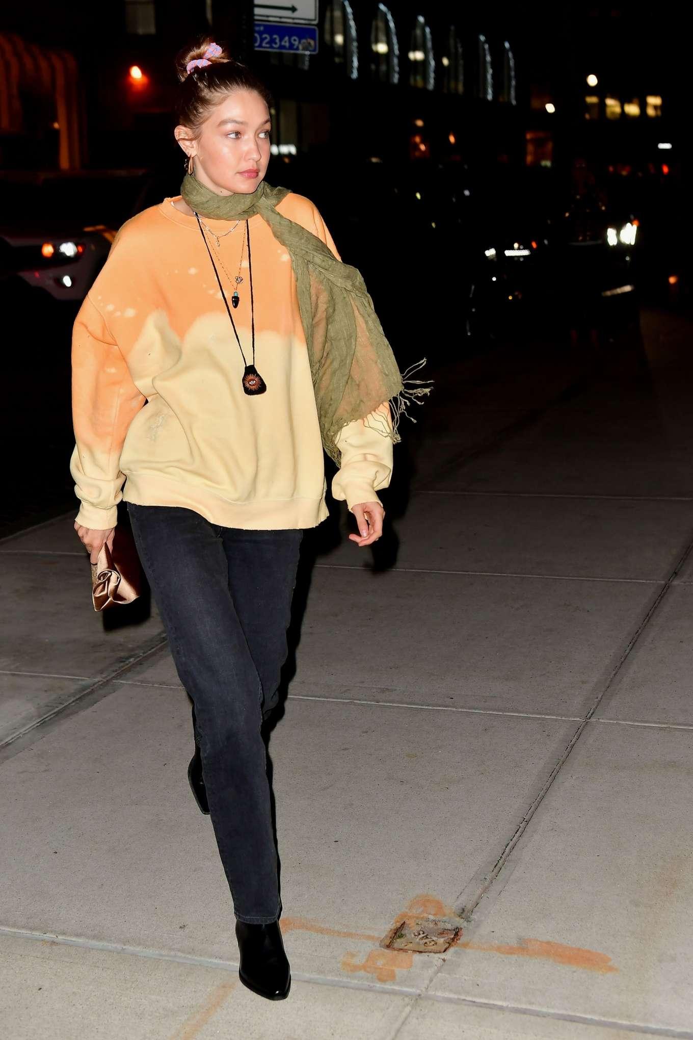 Gigi Hadid 2019 : Gigi Hadid – Leaving La Esquina Restaurant-14